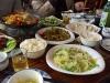 První jídlo v Šanghaji