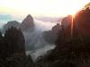 Východ slunce ve Žlutých horách