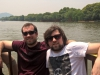 Na jezeře v Hangzhou