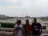 Pohled na Tiananmen z brány zakázaného města