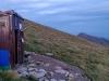 bivak budka pod vrcholem Ineu