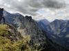 Výhled na konci planiny Graualm