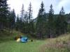 Nocleh v údolí před Weichselboden