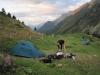 Tábořiště u Chalet La Balme