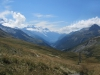 Mont Blanc z Col de Balme
